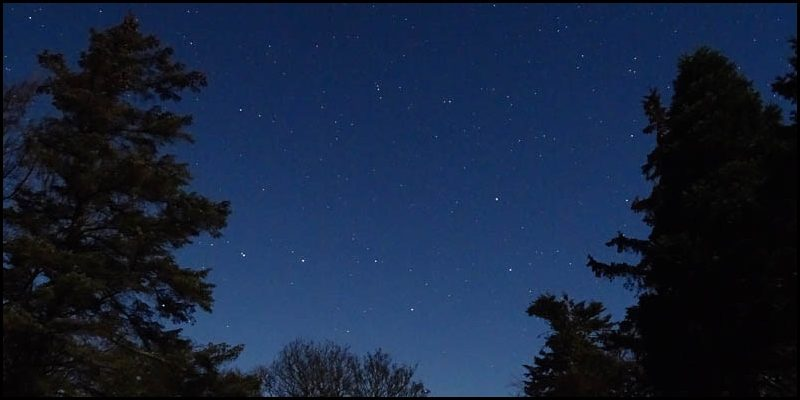 Stargazing in Powburn with NASTRO