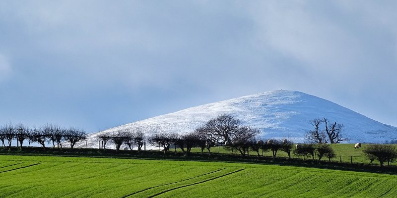 Snow in the Breamish Valley