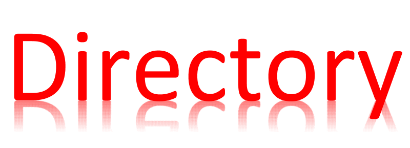 Directory page logo