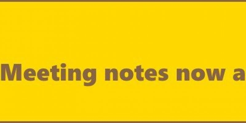 Meeting Notes: 16 Feb 2015