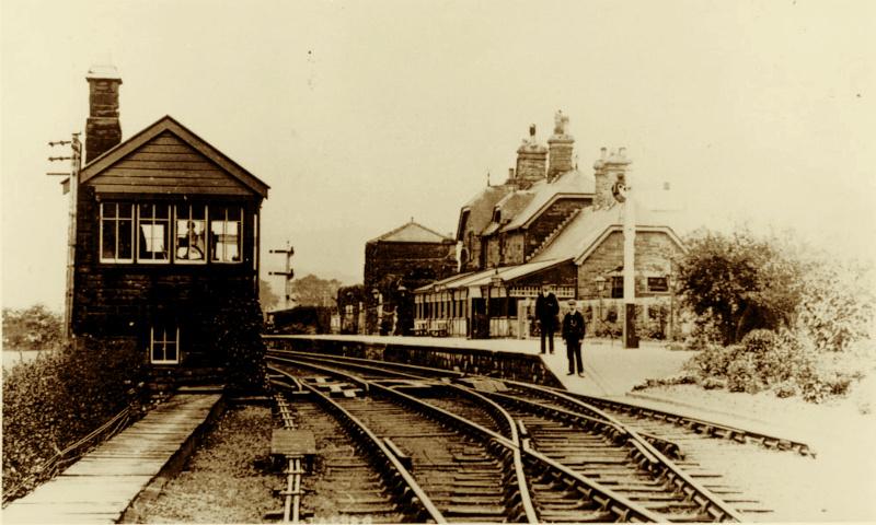 Old Hedgeley Station at Powburn