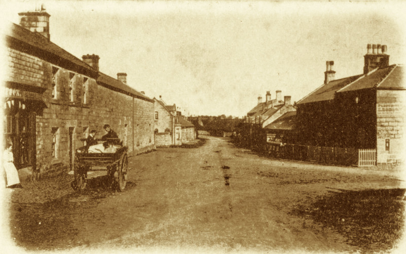 Old Powburn village