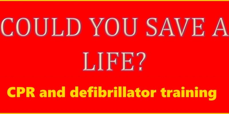 CPR and defibrillator training (23 Nov 2015)