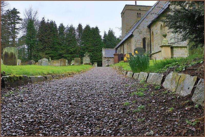 Visiting St Michael and All Angels Church at Ingram, Northumberland