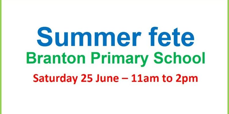 Branton Primary School Summer Fete 2016