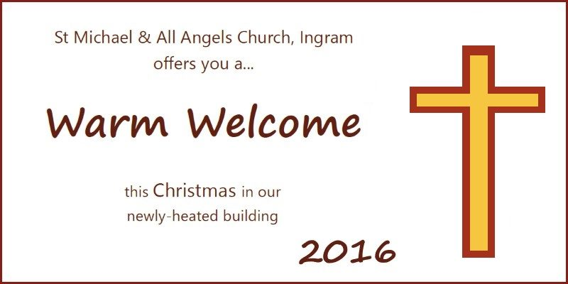 Warm welcome Christmas services