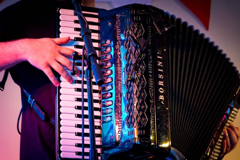 Lenny Brown accordion