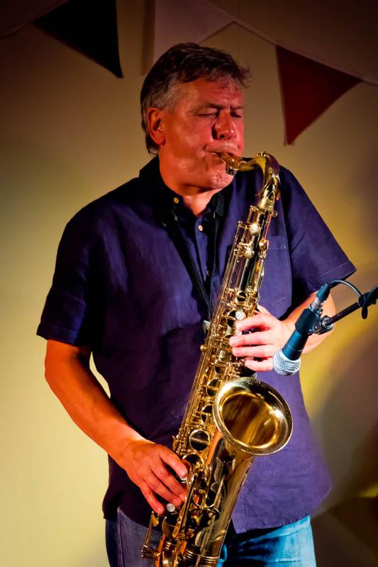 Marty Craggs saxophone