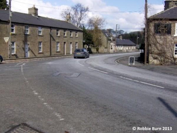 Powburn road layout Robbie Burn 2