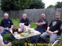Thursdays Team (having a lunch break)