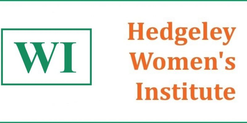 Hedgeley WI Programme 2017-2018
