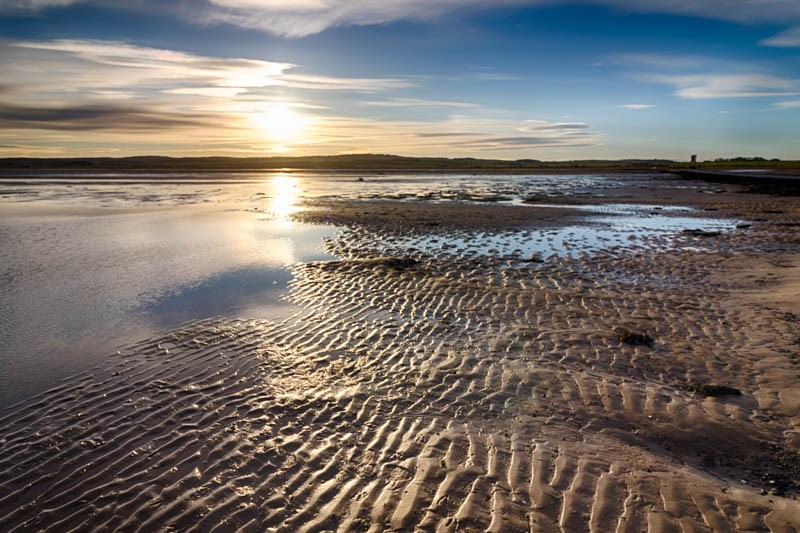 Holy Island ripples in the sand 2017