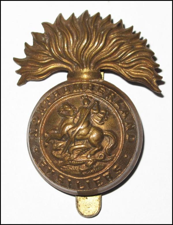Northumberland Fusiliers regimental badge