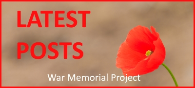 Breamish Valley War Memorial Project latest posts