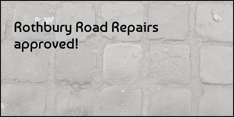 Rothbury Road Repairs Approved