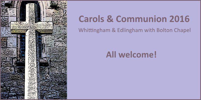 Carols and Communion Christmas 2016