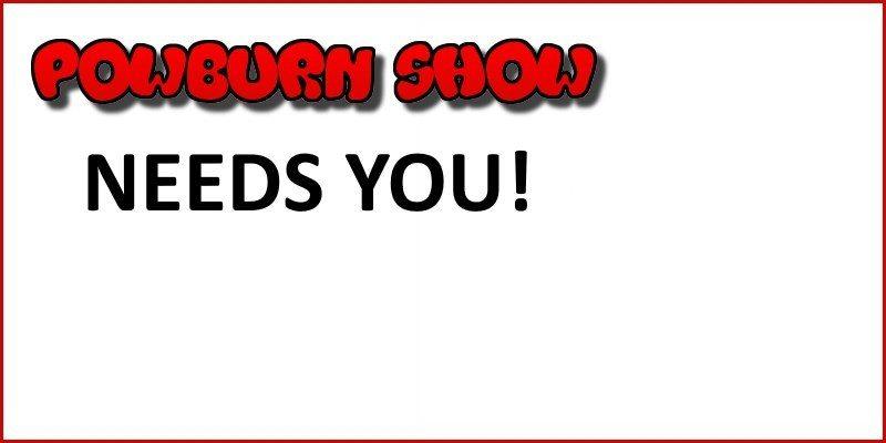 Powburn Show needs you