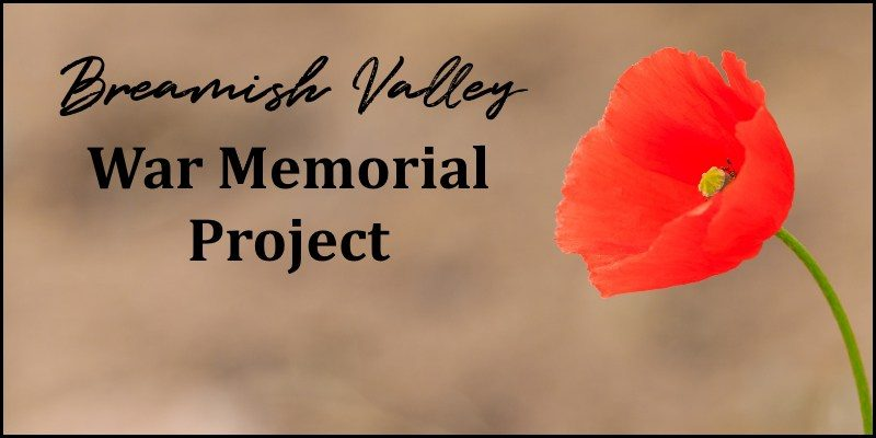 Breamish Valley War Memorial Project