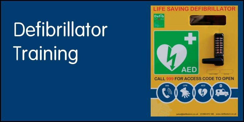 Defibrillator Training 14 May 2018