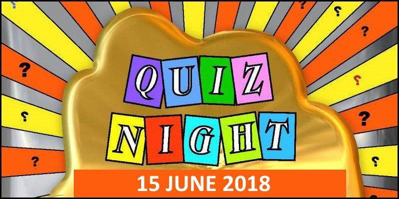 Quiz Night Jun 2018
