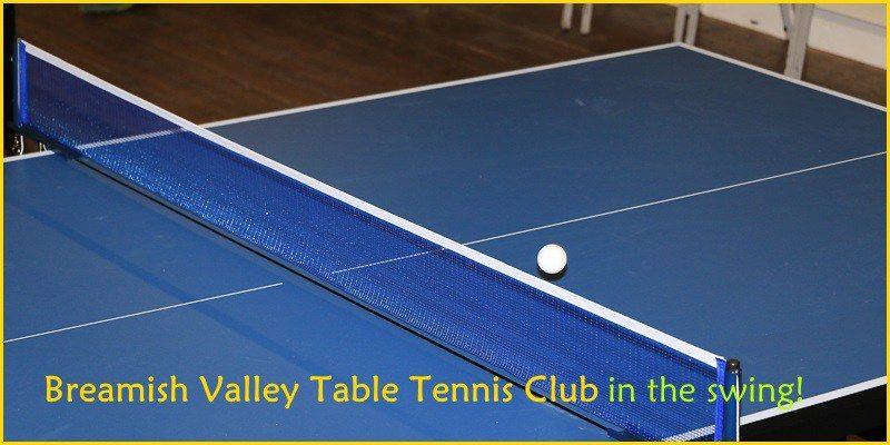 Table Tennis Club in full swing!