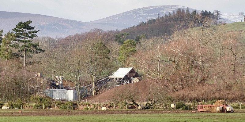 Hedgeley gravel quarry