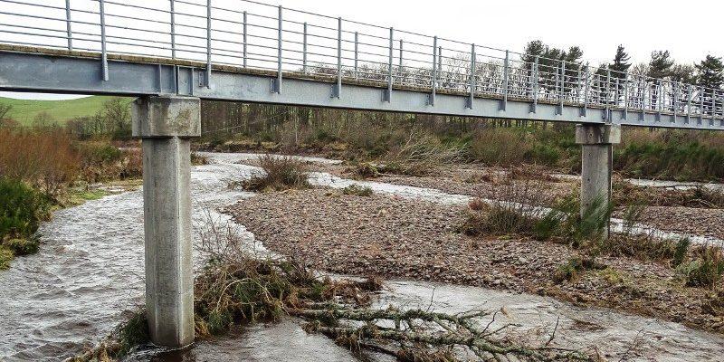 River Breamish flotsam