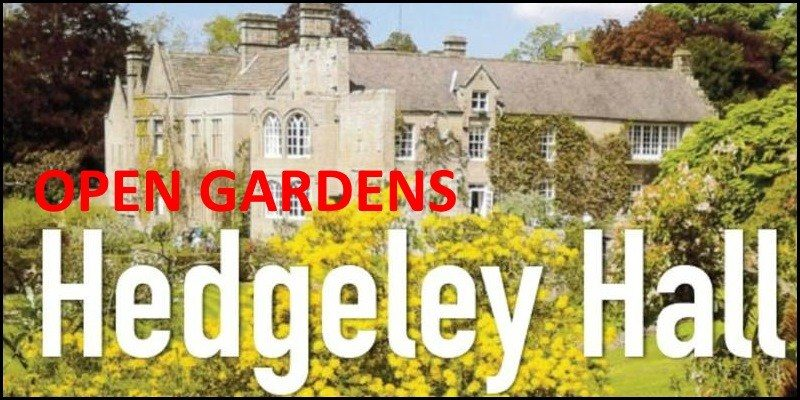 Open Gardens Hedgeley Hall 2018
