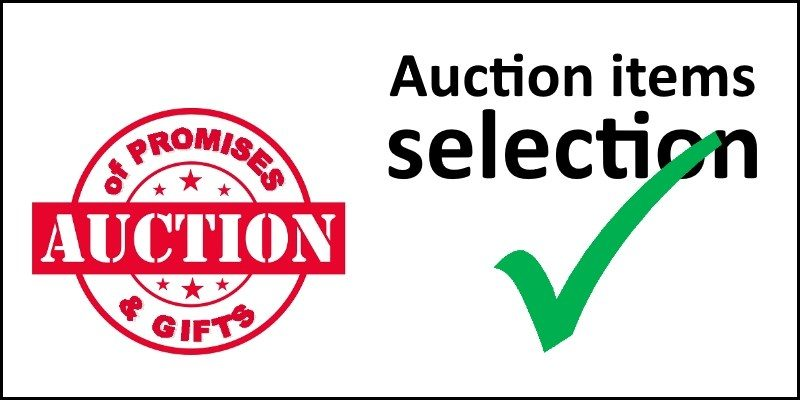 Auction Items Selection 2018