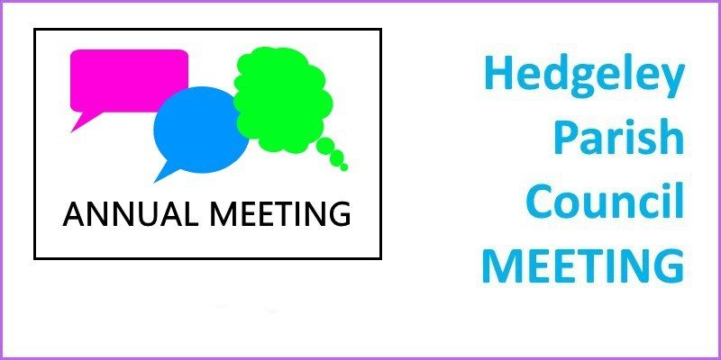 Hedgeley Parish Council Annual Meeting 2018
