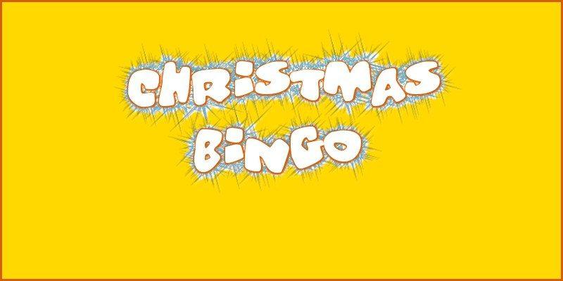 Prize Christmas Bingo