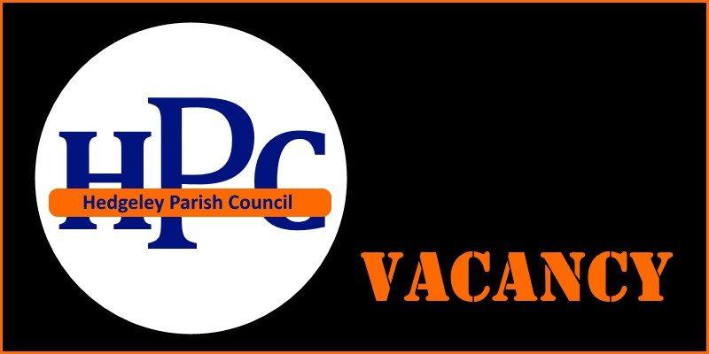 Hedgeley Parish Council vacancy (Sep 2018)