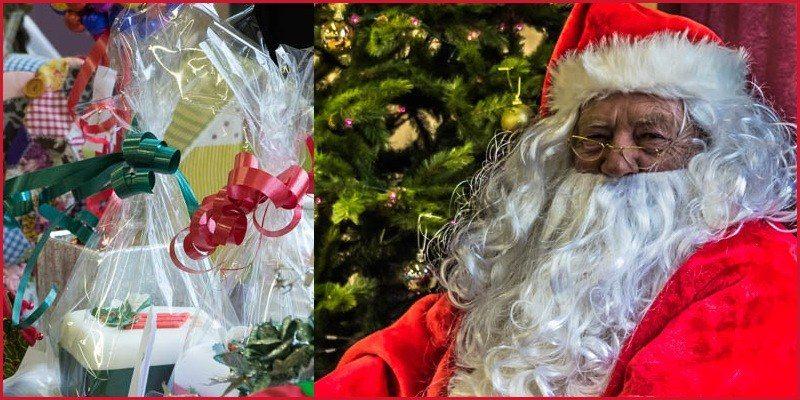 Christmas Crafts and Santa 2015