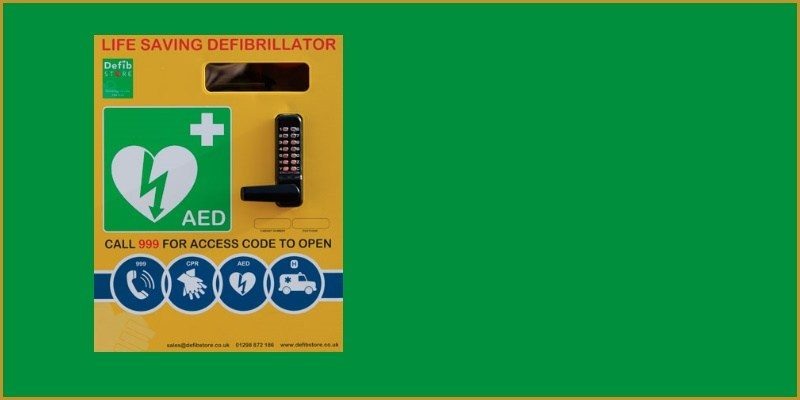 Defibrillator relocation