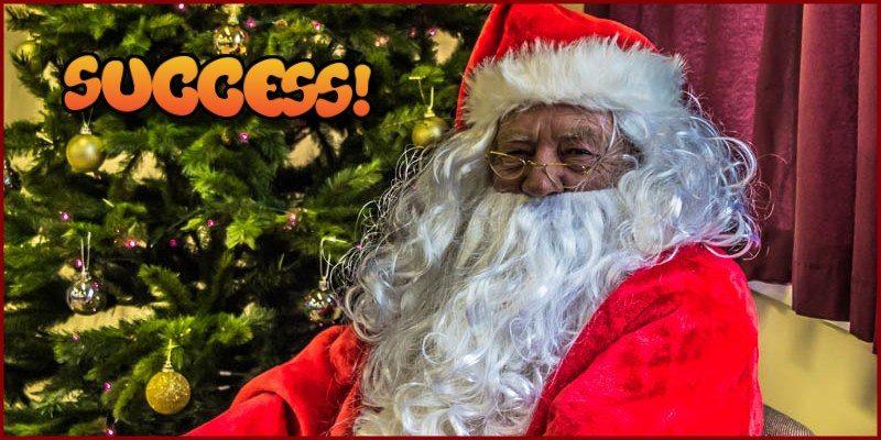 Christmas Crafts and Santa 2016 success!