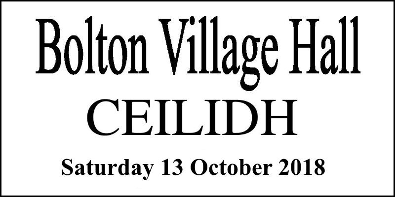 Ceilidh (Bolton Village Hall 2018)