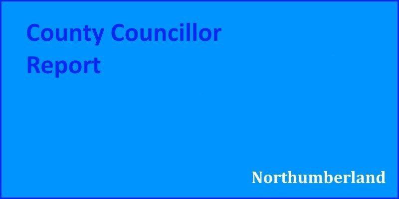 County Councillor Report (Sep 2018)