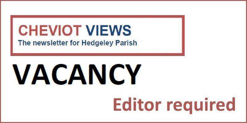 Cheviot Views Editor Vacancy