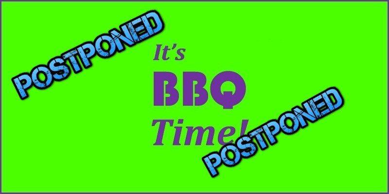 BBQ (July 2017) Postponed!