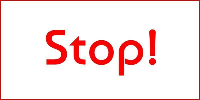 Stop Speeding! Campaign