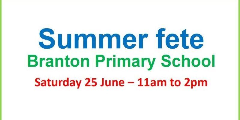 Branton Primary School Summer Fete 2016