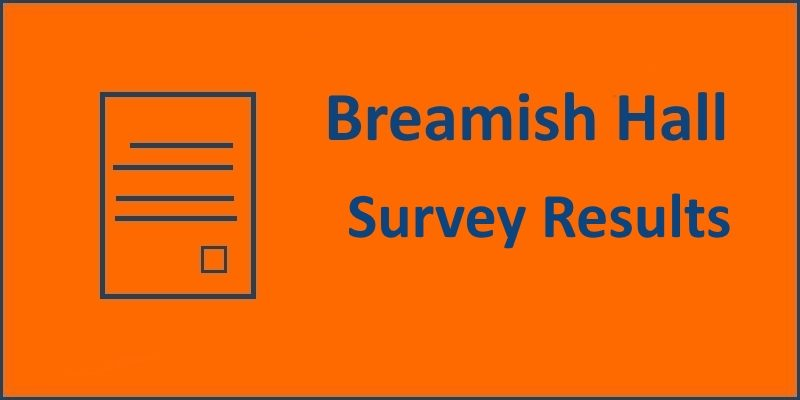 Breamish Hall Survey Results 2018