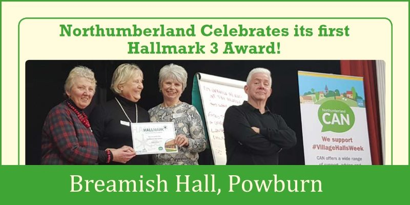 Northumberland first Hallmark 3 Award