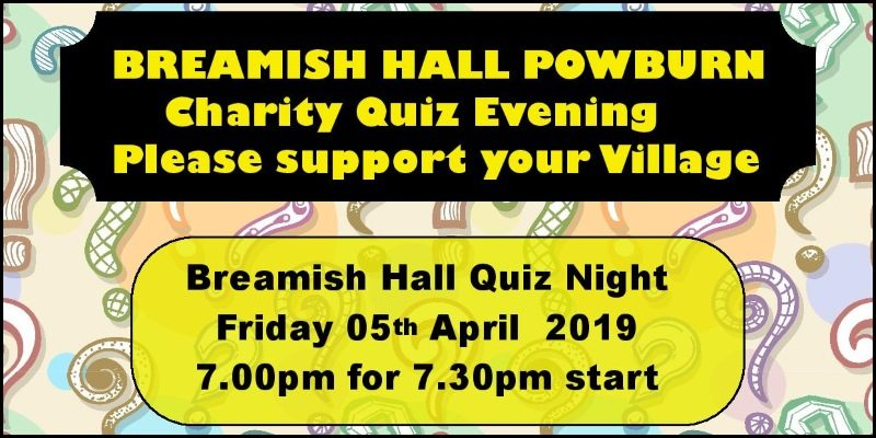 Charity Quiz Evening 2019