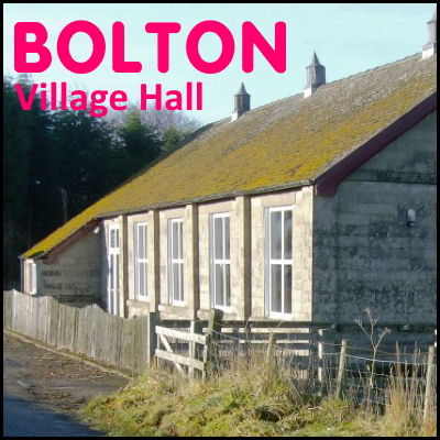 Bolton Village Hall Northumberland badge