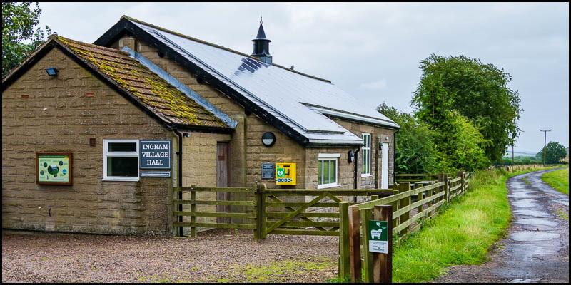 Contact details for Ingram Village Hall