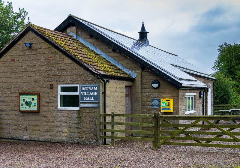 Ingram Village Hall, Northumberland