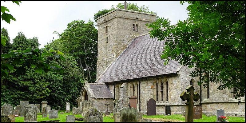 Colour photo of Ingram Church