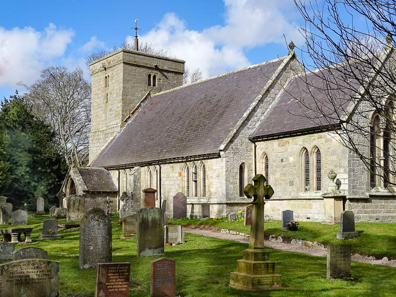 St Michael and All Angels church at Ingram