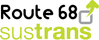 Sustrans Route 68 badge